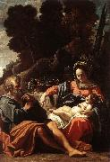 BADALOCCHIO, Sisto The Holy Family  145 oil